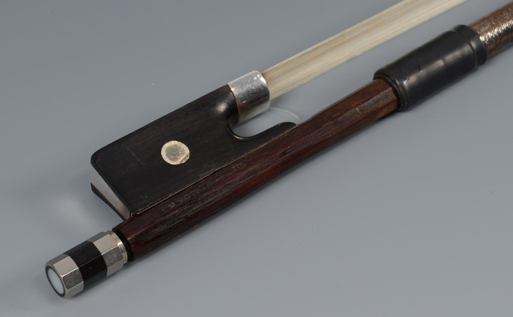 Lot 591: French Violin Bow, Francois Nicholas Voirin