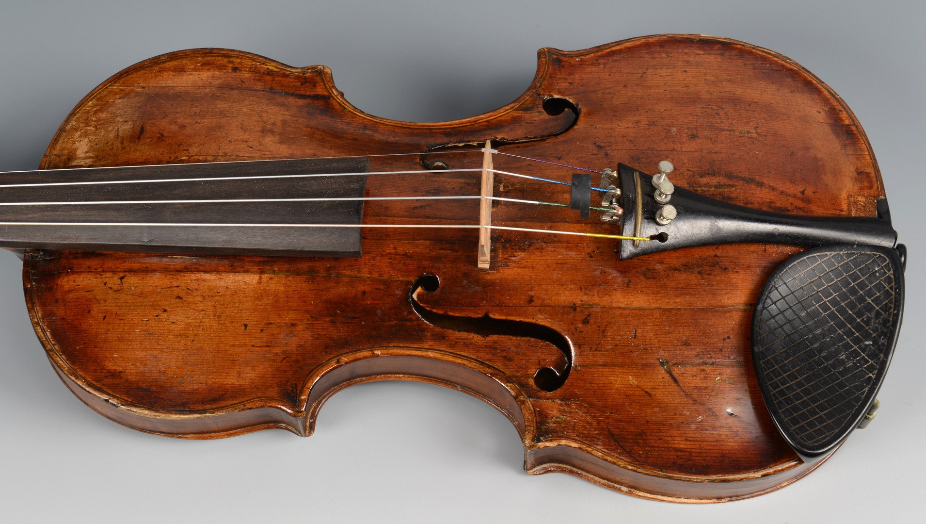 Lot 592: German Violin, Klotz school & Bow