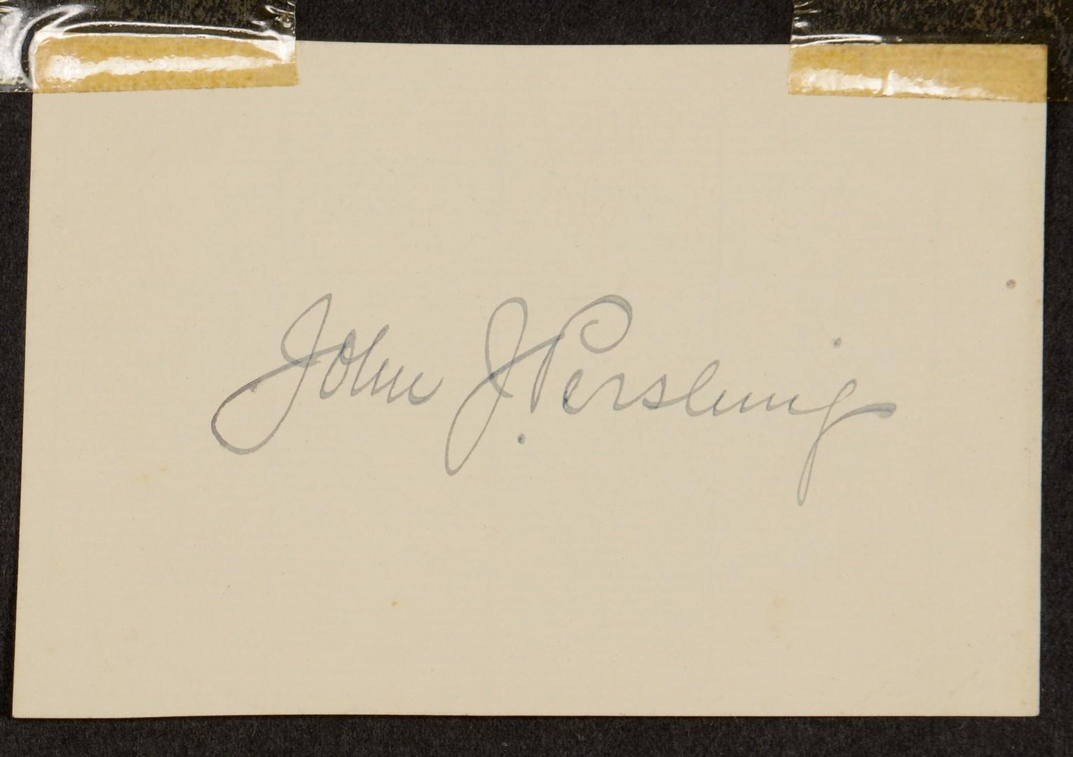 Lot 595: Autograph Album dating 1916 – 1918