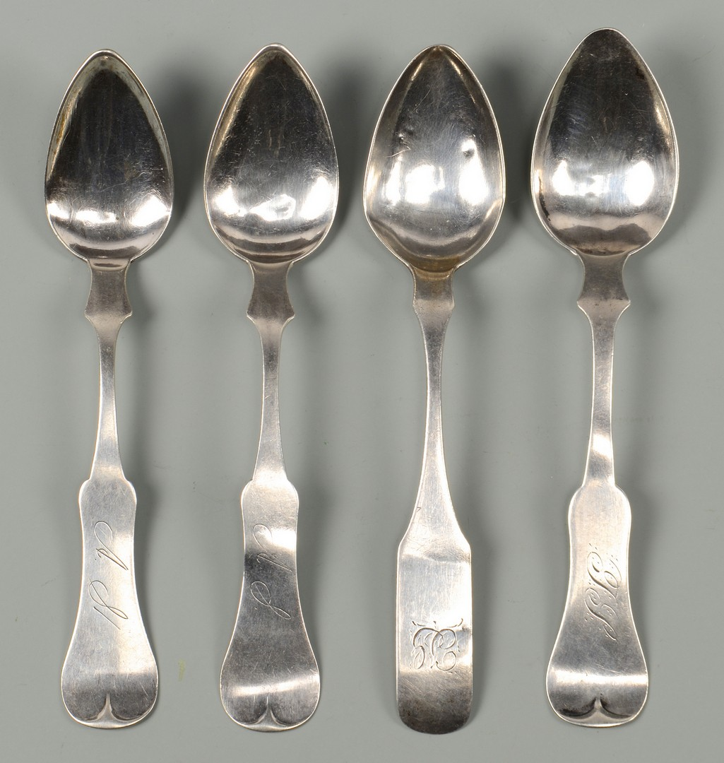Lot 605: TN Daguerreotype & 4 Southern spoons