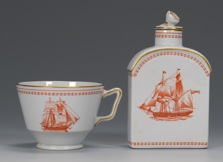 "Lot 619: Spode Porcelain, ""Trade Winds"", 22 pcs"