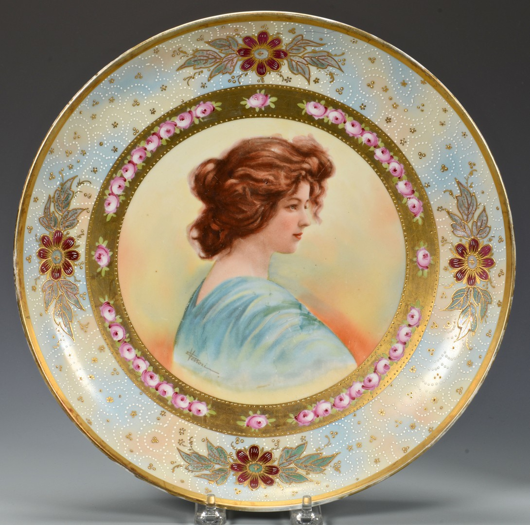 Lot 621: European Porcelains inc. Sevres, 6 Items