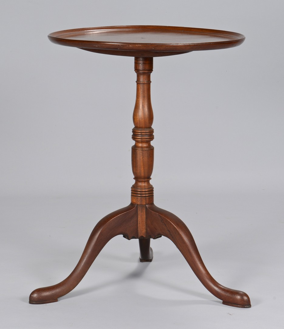 Lot 632: 2 19th Cent. American Candlestands