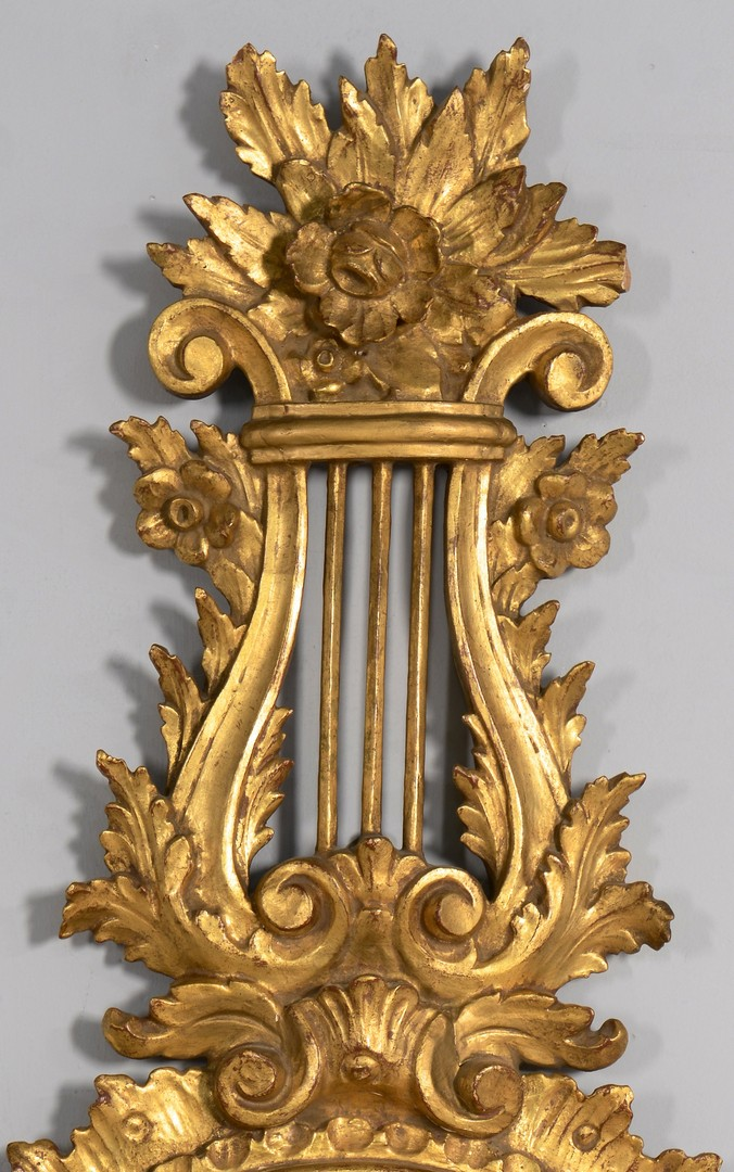 Lot 641: Louis XVI Style Giltwood Barometer