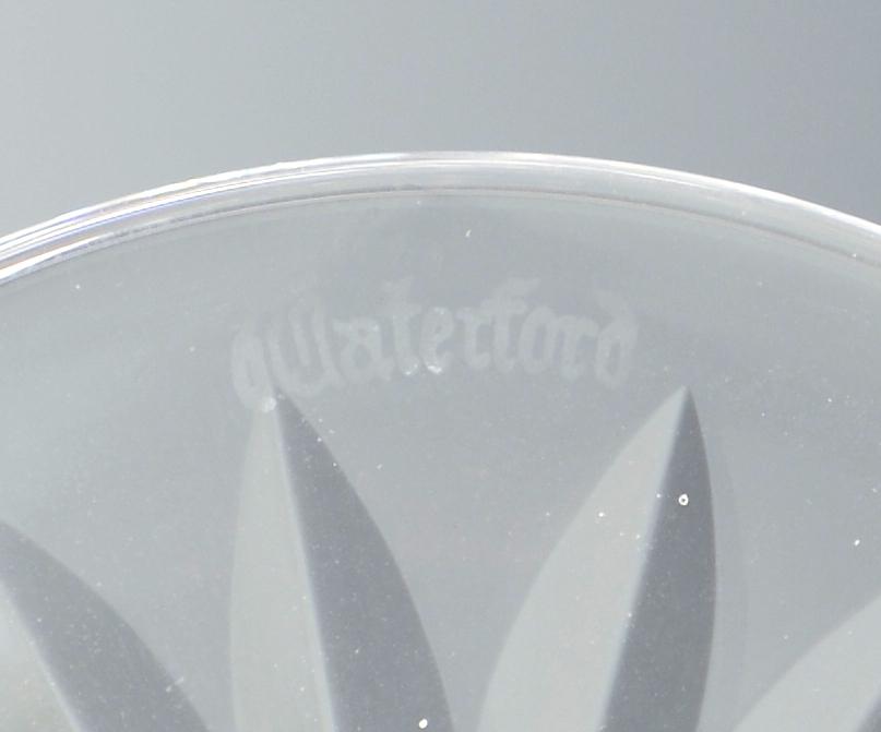 Lot 655: Waterford Crystal Stemware, 12 pcs