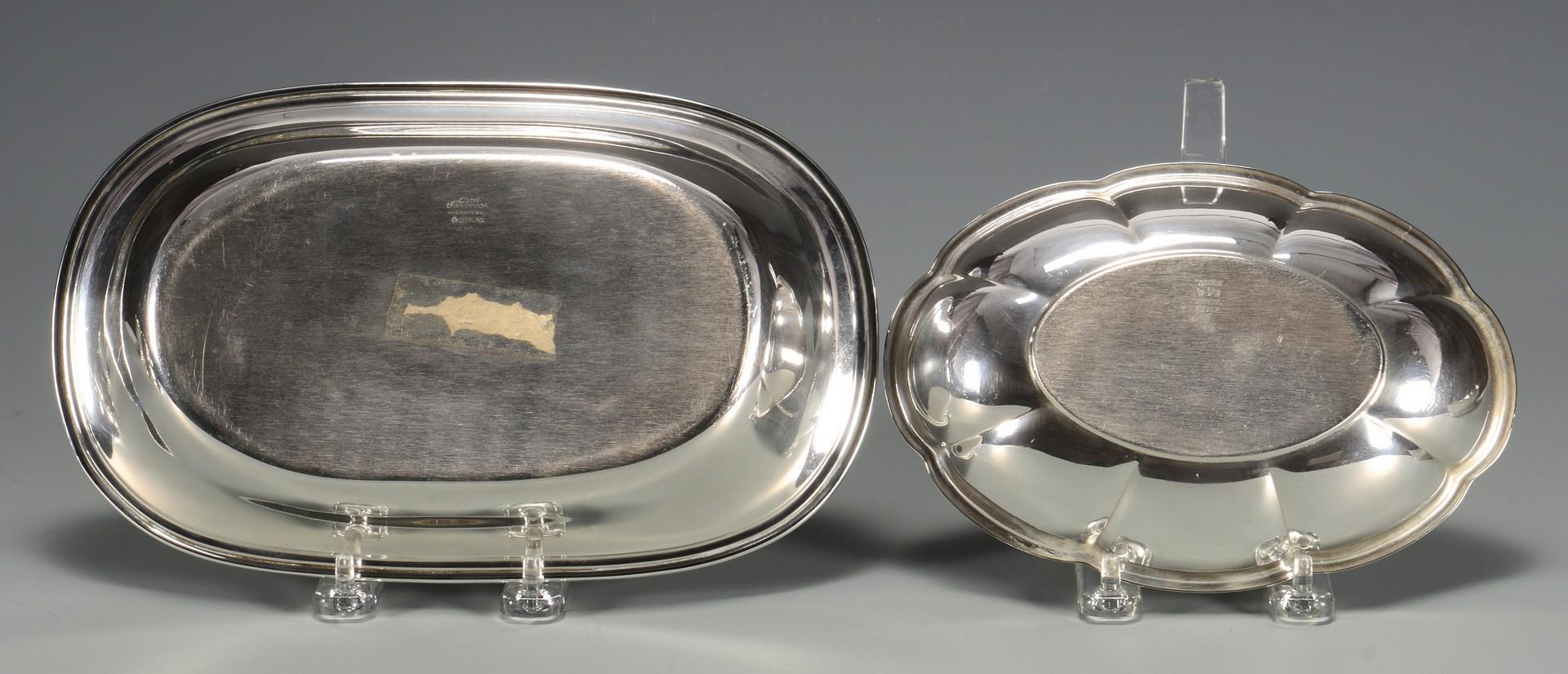 Lot 670: 5 pcs Sterling Hollowware inc. Revere Bowls