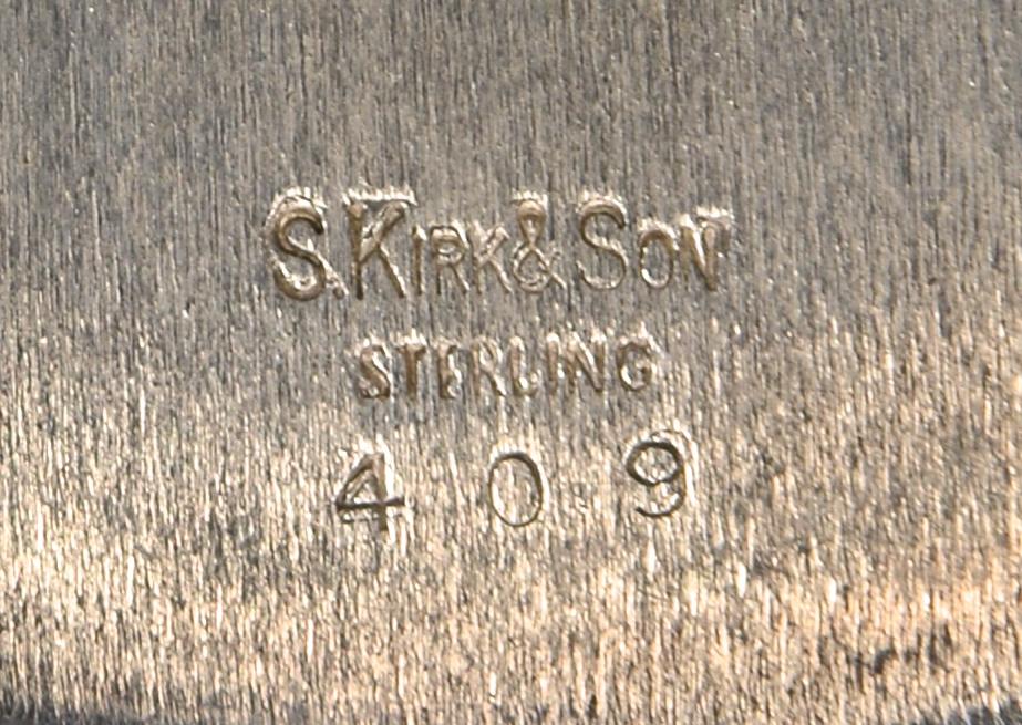 Lot 676: Kirk Repousse Serving & Candy Bowls