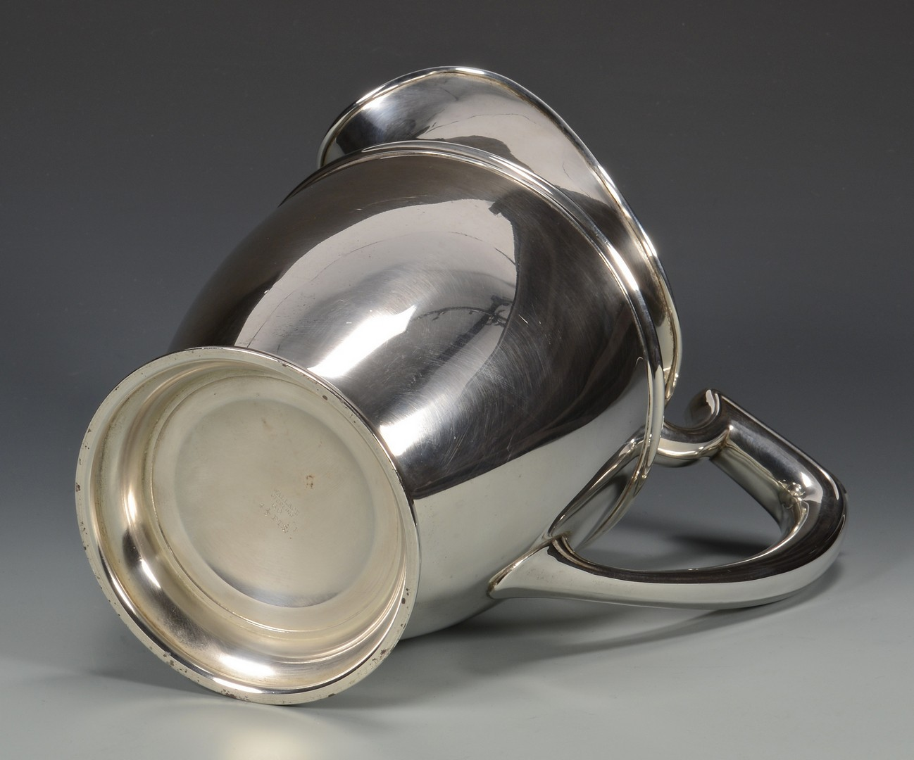 Lot 678: Wallace Sterling Silver Water Pitcher