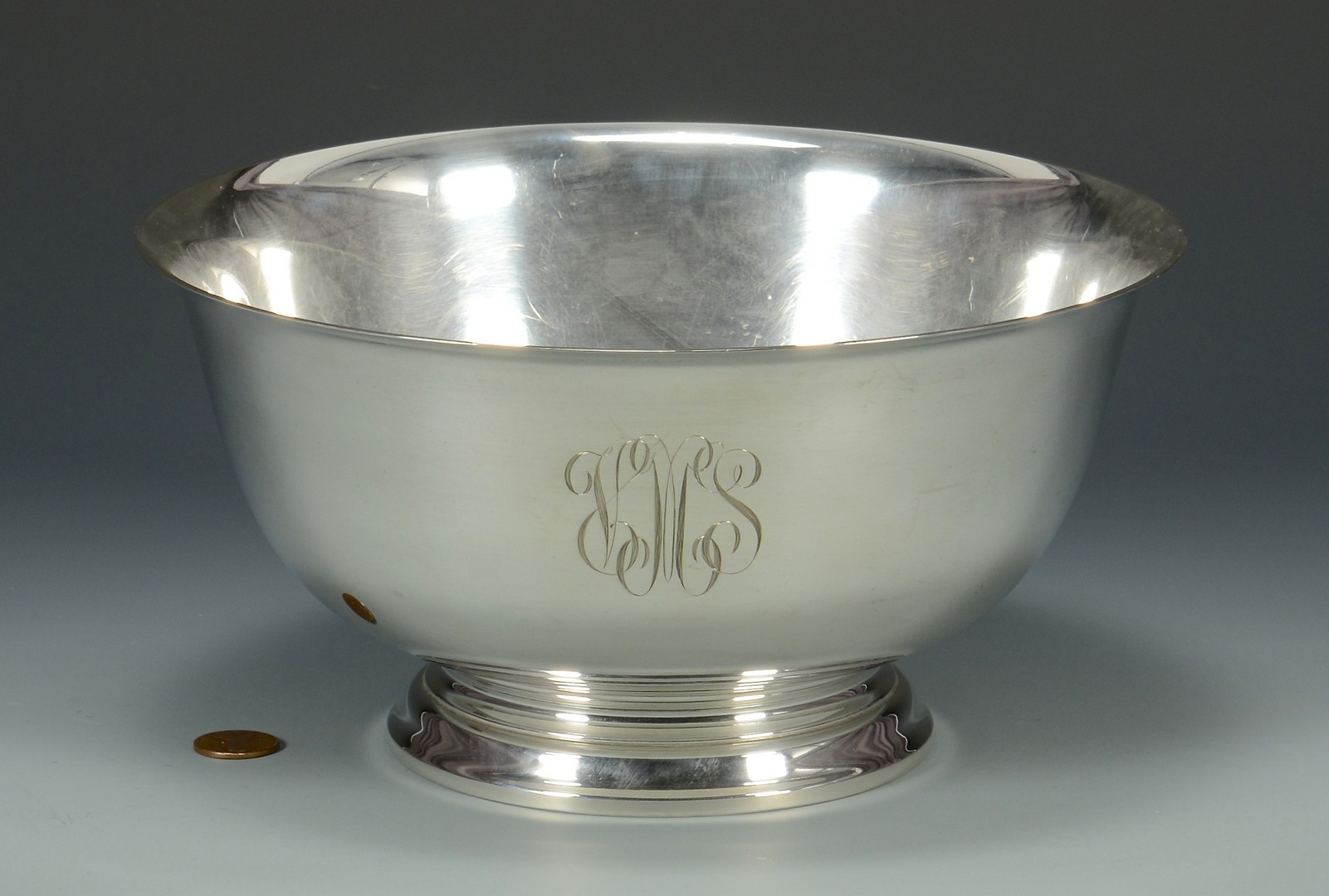 "Lot 681: Gorham ""Revere"" Sterling Silver Bowl"