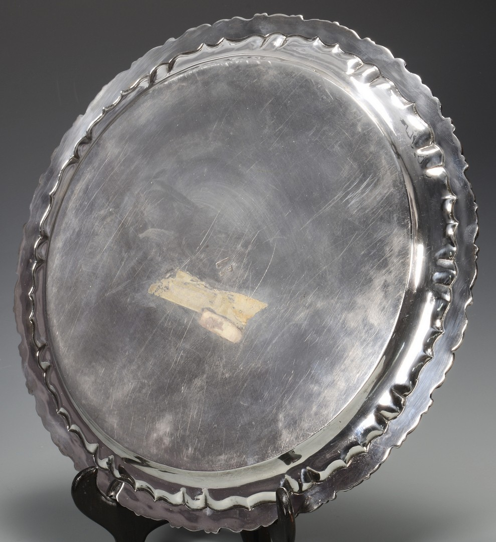 Lot 689: Mexican Sterling Silver Server, Sanborns