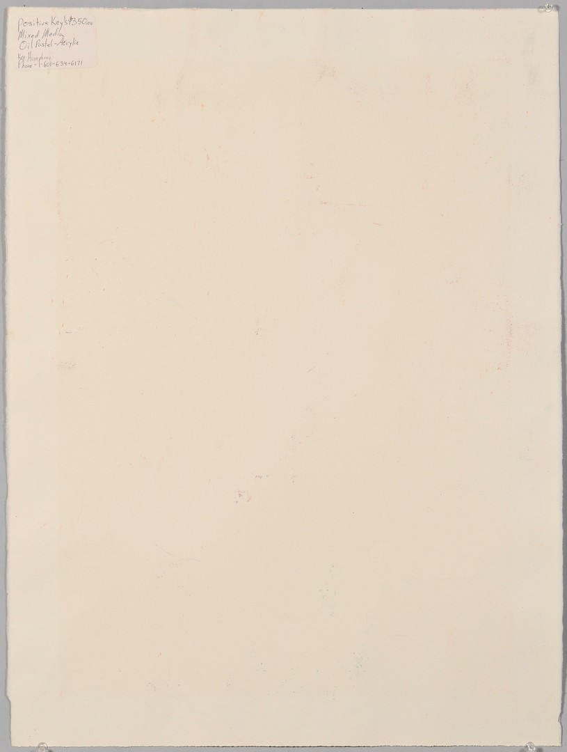 Lot 698: Ken Humphrey work on paper