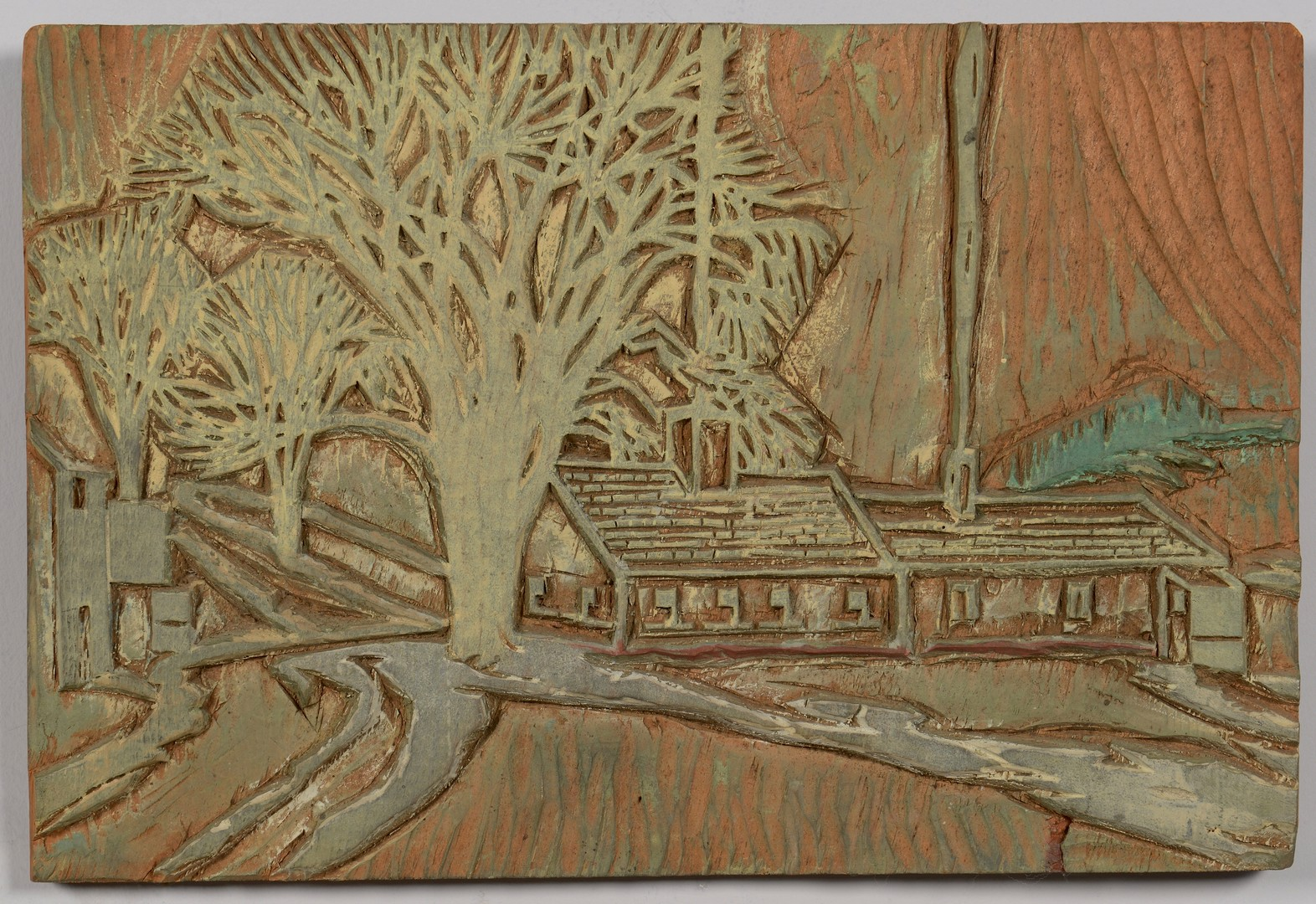 Lot 706: 3 Carroll Thayer Berry woodblock works