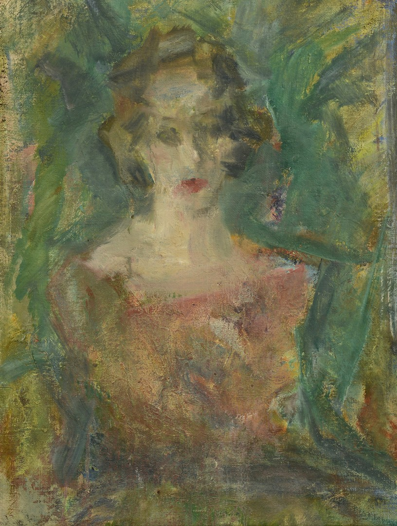 Lot 708: Conrad Werner OOC Portrait