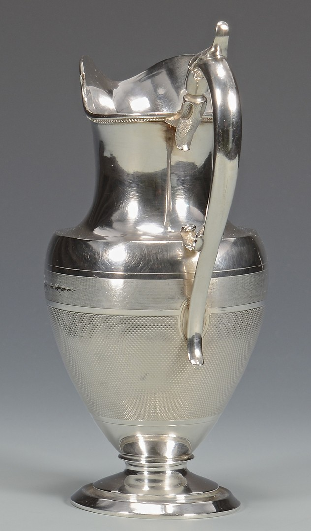 Lot 70: Natchez Coin Silver Cream Jug