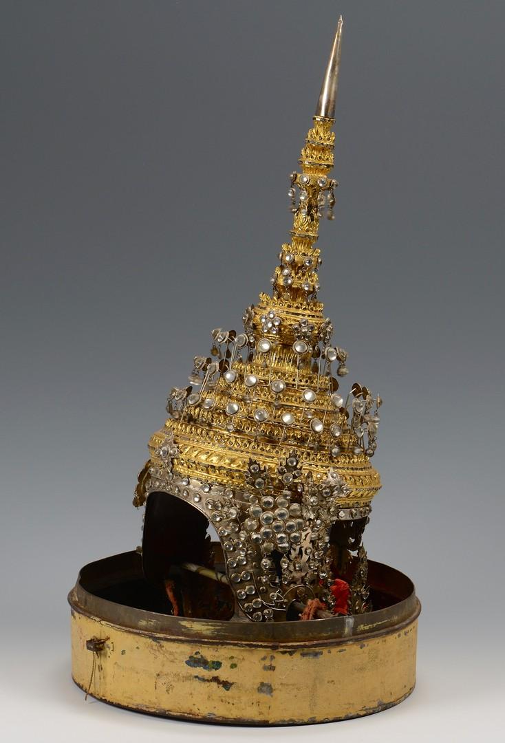 Lot 720: Thai Ceremonial Headdress