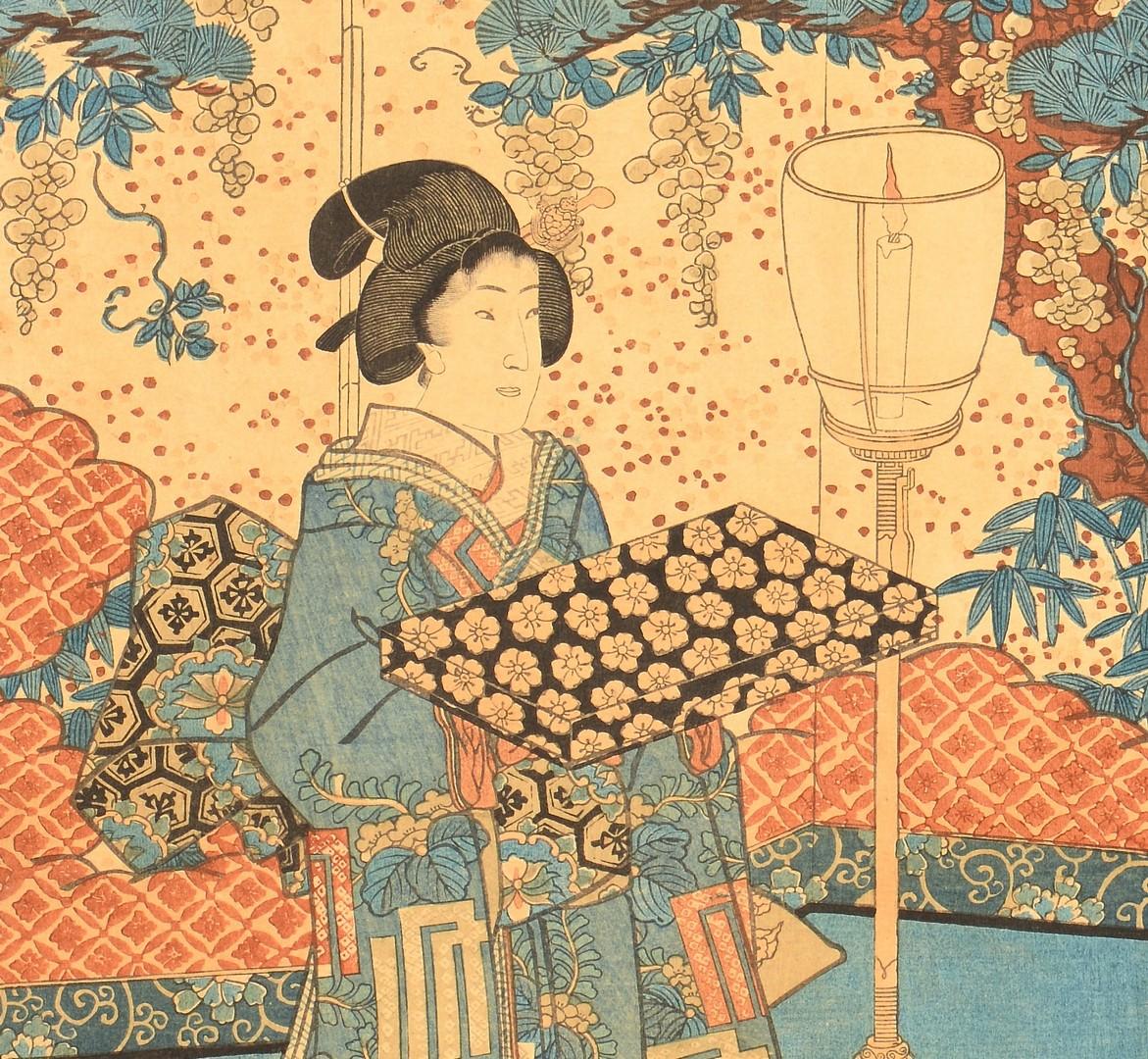 Lot 728: Six Japanese Woodblocks