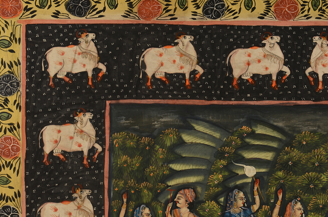 Lot 729: Southeast Asian Painting on Silk