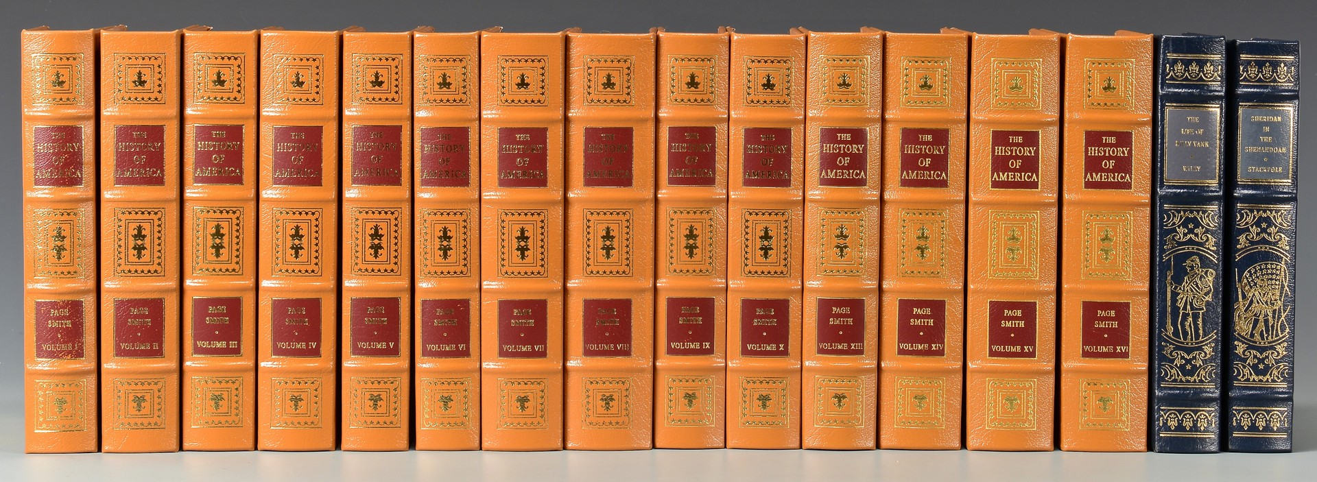 Lot 737: 16 Easton Press American History &  Civil War Books