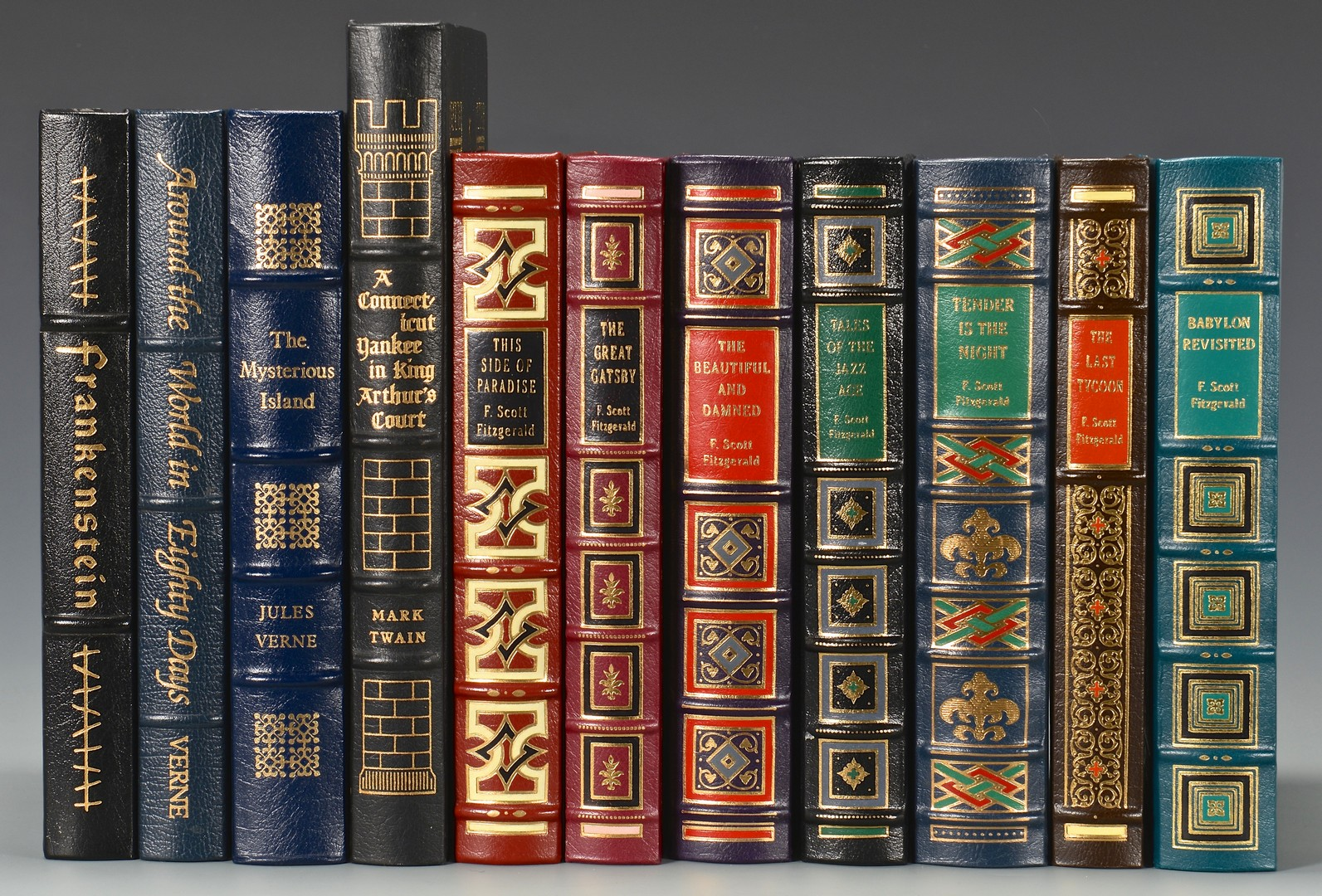 Lot 739: 11 Easton Press Books, including Great Gatsby