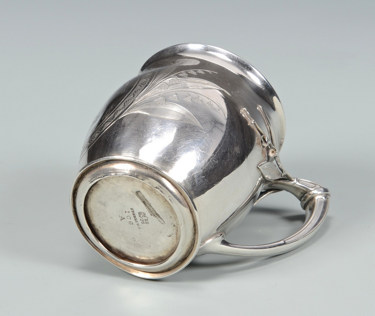 Lot 73: Aesthetic Silver Cup, S. Cockrell