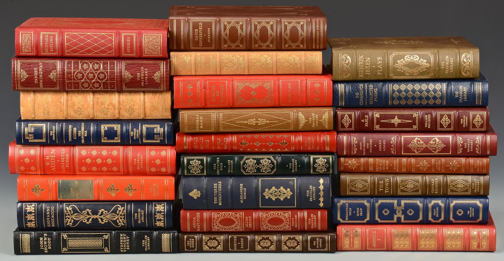 Lot 741: 25 Franklin Press Books