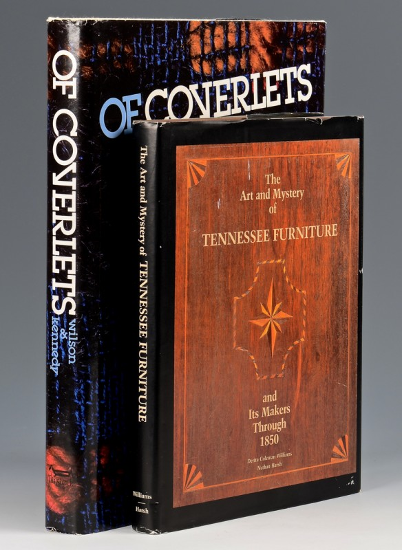 Lot 744: TN Furniture and Coverlets Books