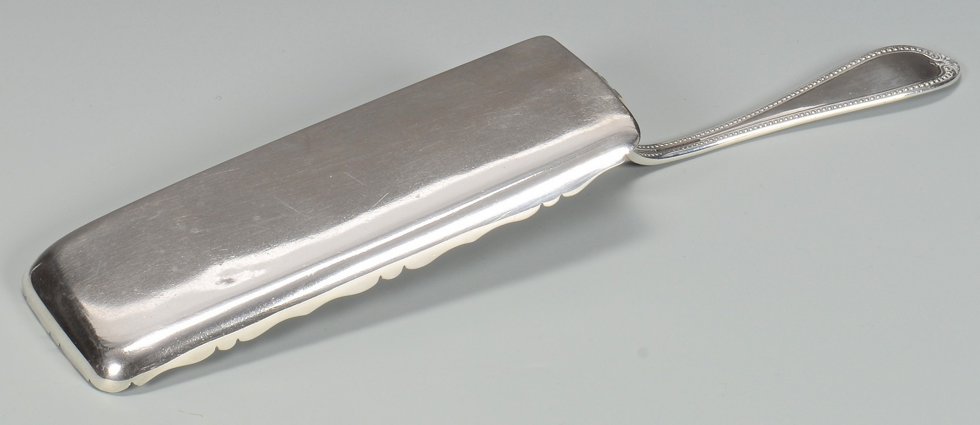 Lot 74: McPherson MS Coin Silver Fish Slice