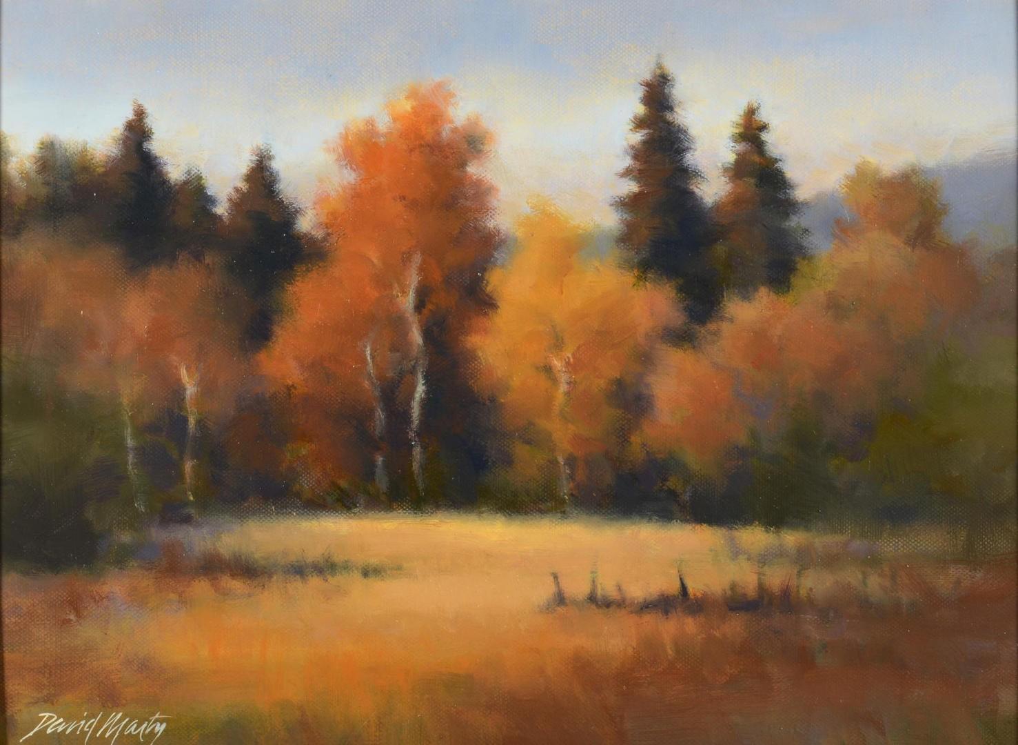 Lot 753: Autumn Glow by David Marty