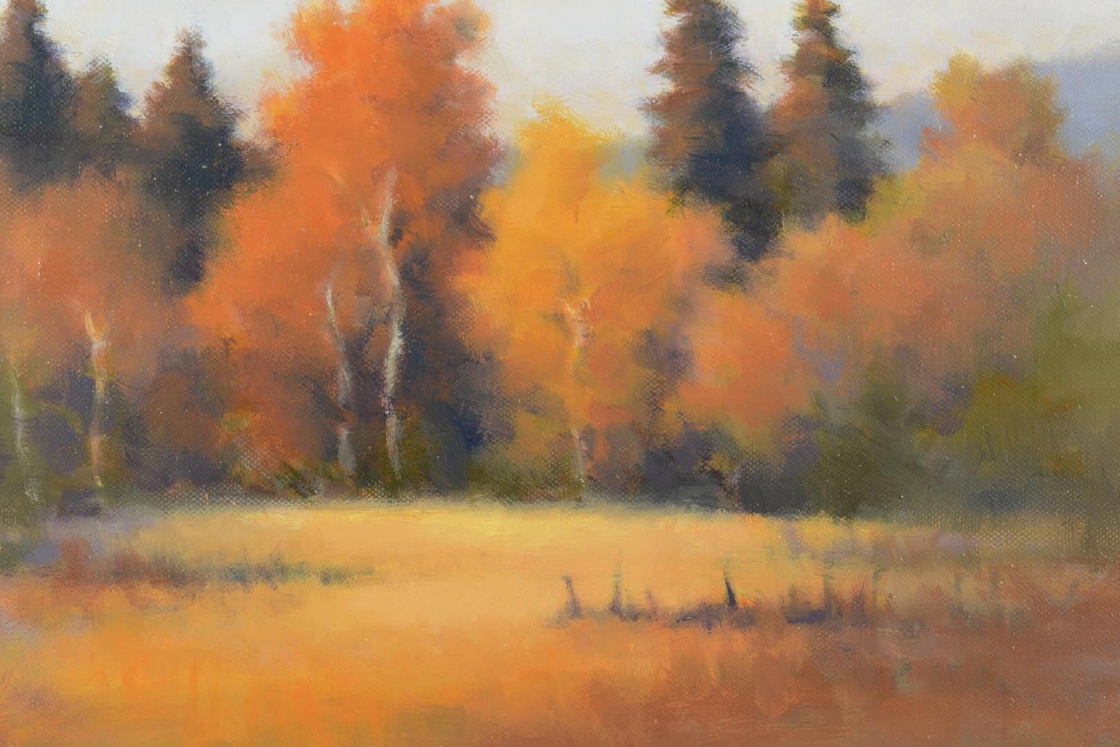 Lot 753: Autumn Glow by David Marty