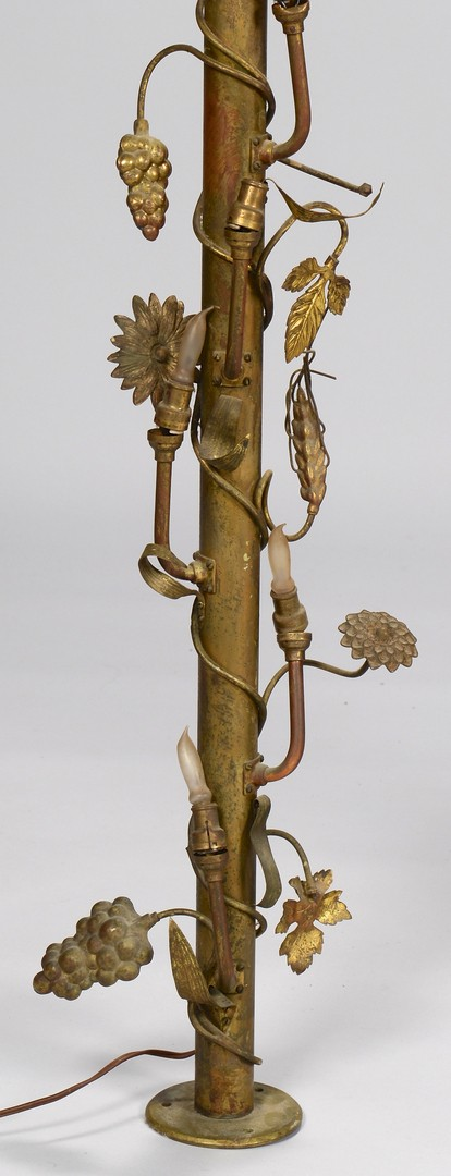 Lot 757: Lighted Brass Arch