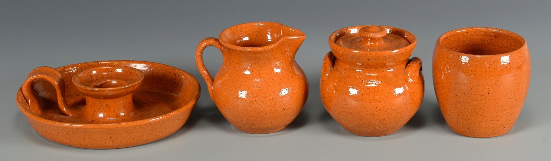 Lot 773: 26 pcs Jugtown Pottery, Vernon Owens