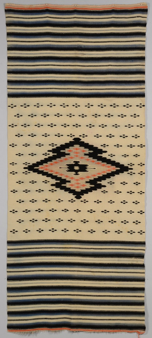 Lot 775: Native American Rio Grande Blanket
