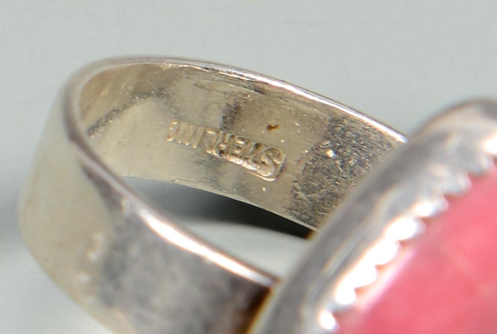 Lot 779: Silver Native American Jewelry