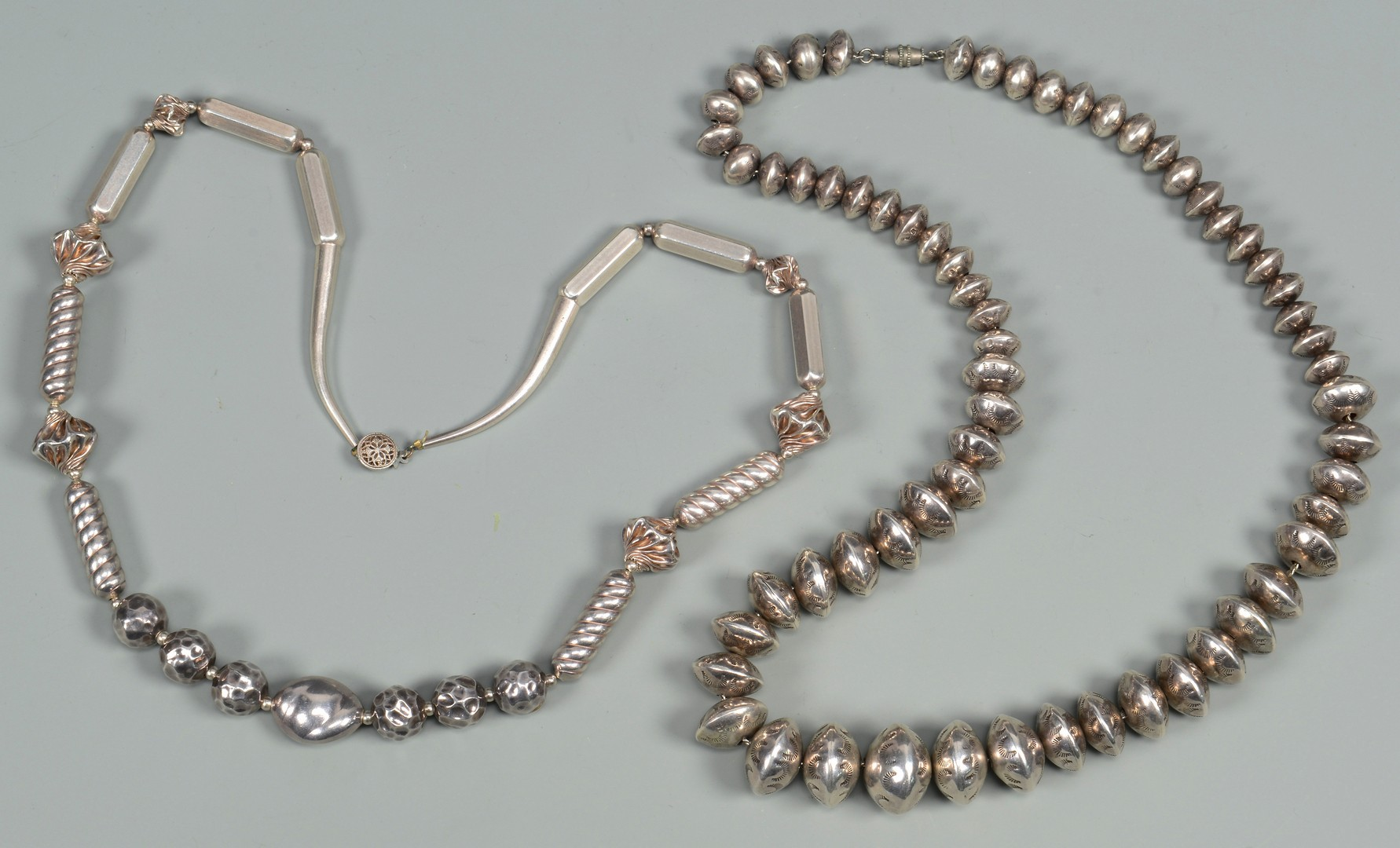 Lot 779: Silver Native American Jewelry