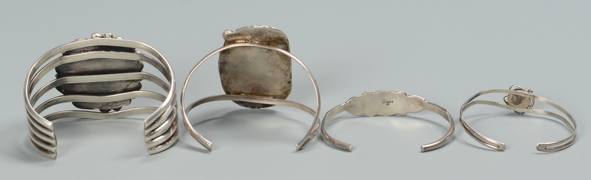 Lot 782: Grouping of Navajo Jewelry & Sterling Silver