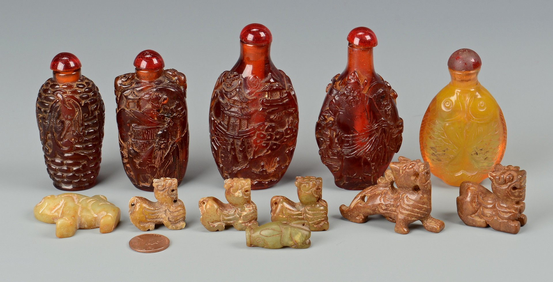 Lot 784: Group of Asian Decorative Items, 12 pcs.