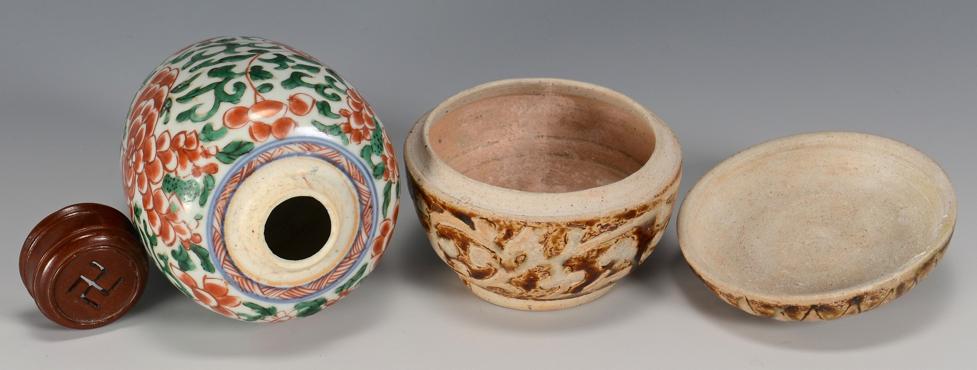 Lot 785: 5 Asian Decorative Items 15th-20th c.