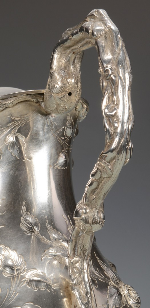 Lot 78: New Orleans Silver Water Pitcher, A. Himmel