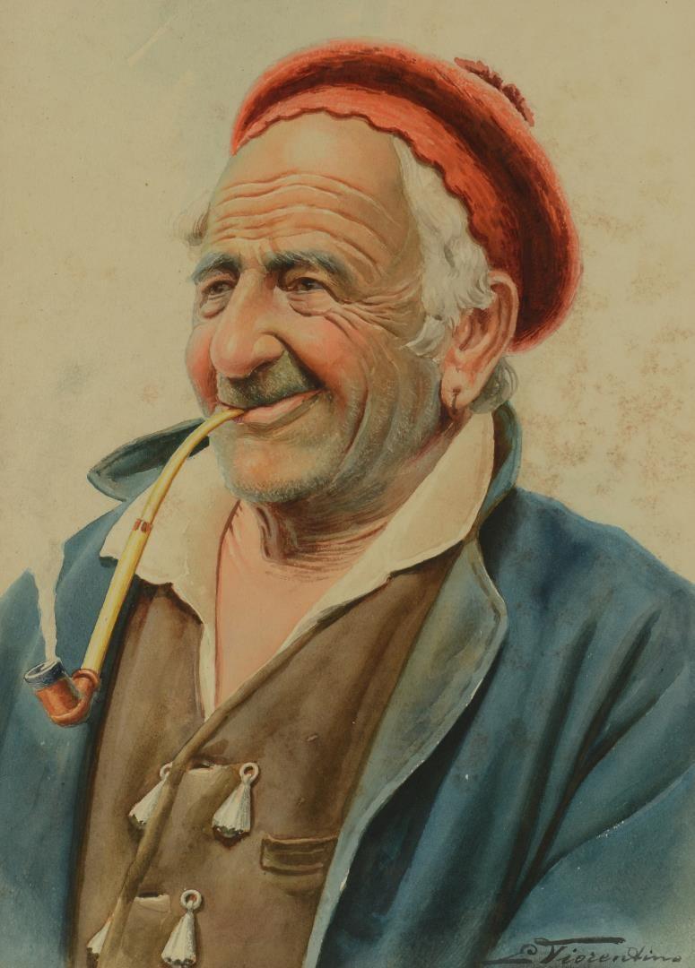 Lot 790: Pr Antonio E. Fiorentino Portraits