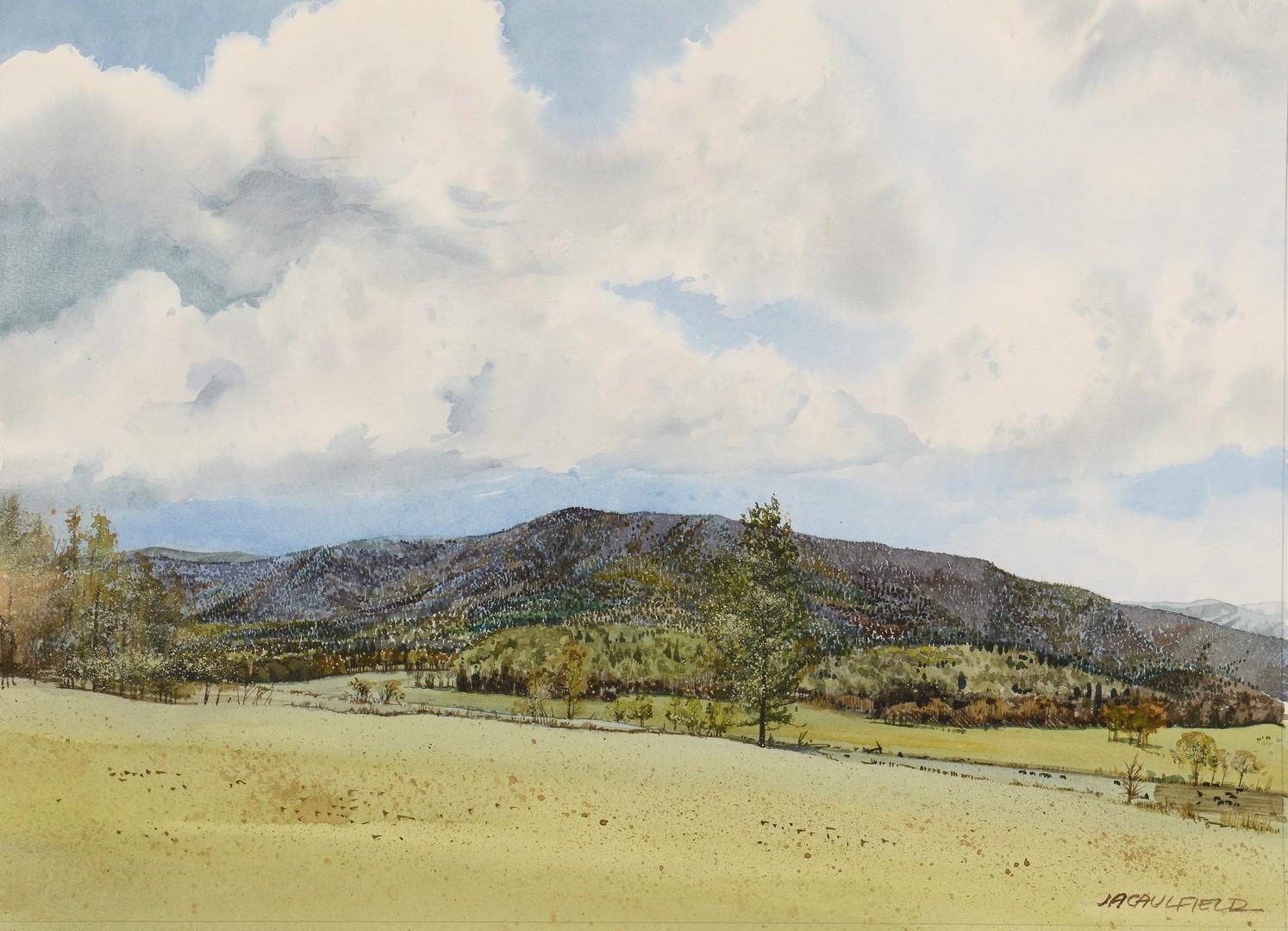 Lot 796: 3 Landscapes by James Caulfield