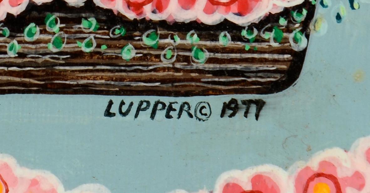 Lot 803: Pr. Edward Lupper Oil on Boards