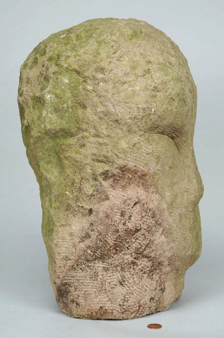 Lot carved limestone sculpture attr jack kershaw