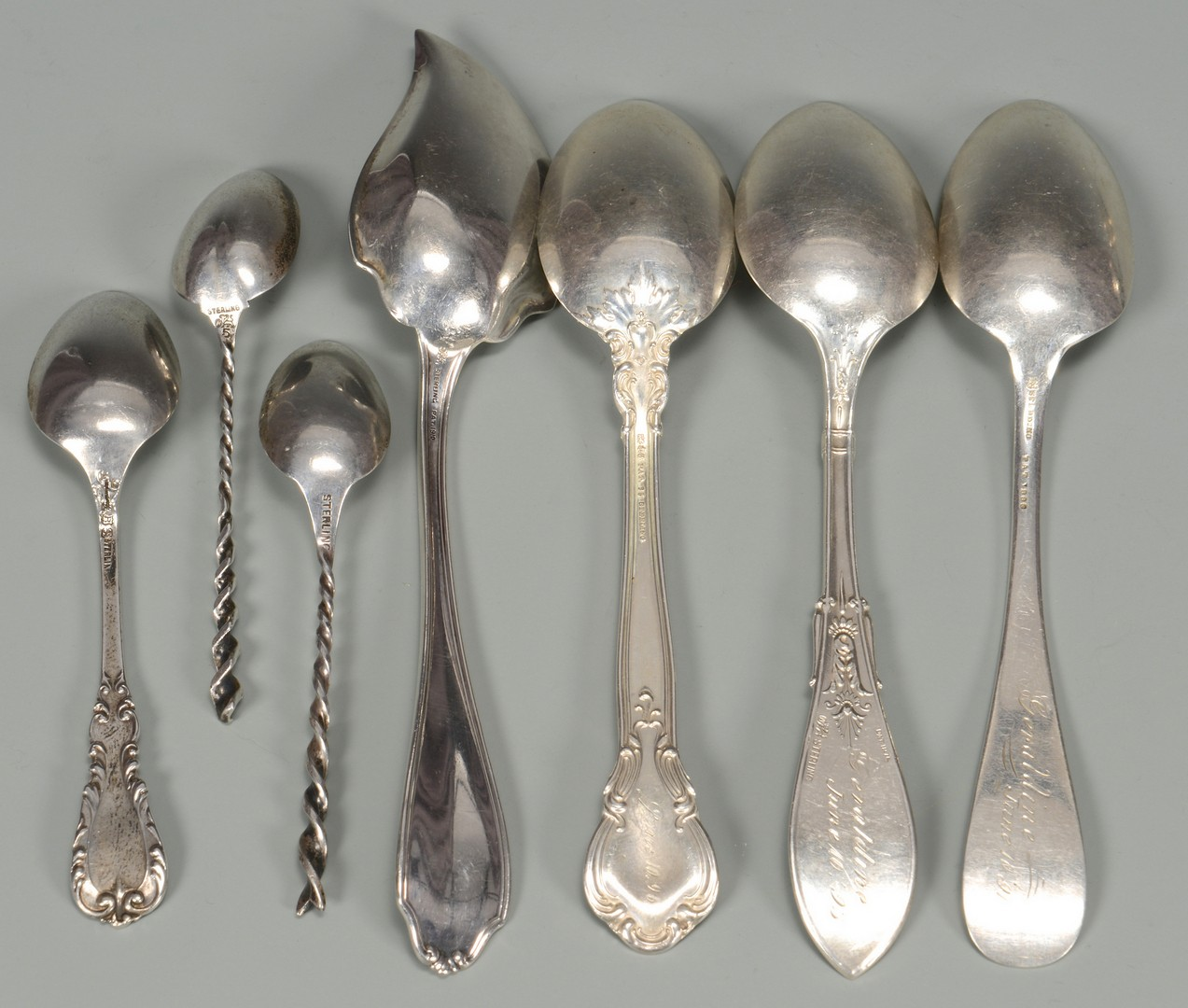 Lot 815: Misc. Grouping of Sterling