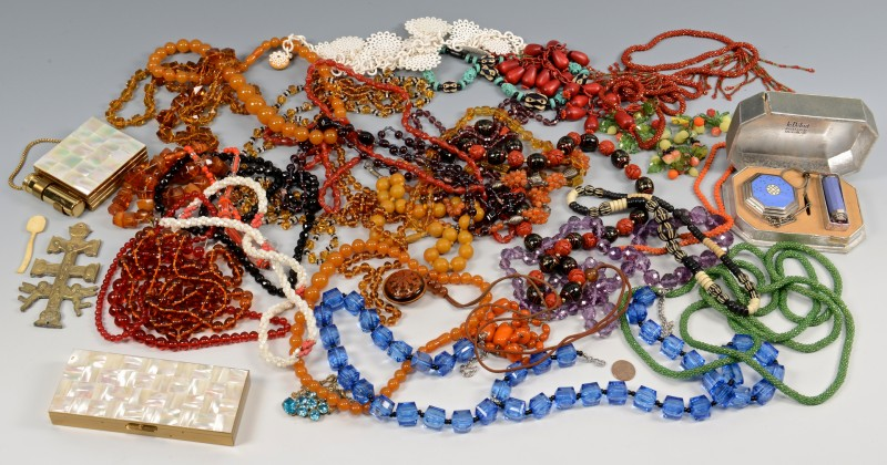 Lot 834: Assorted Group Ladies Costume Jewelry