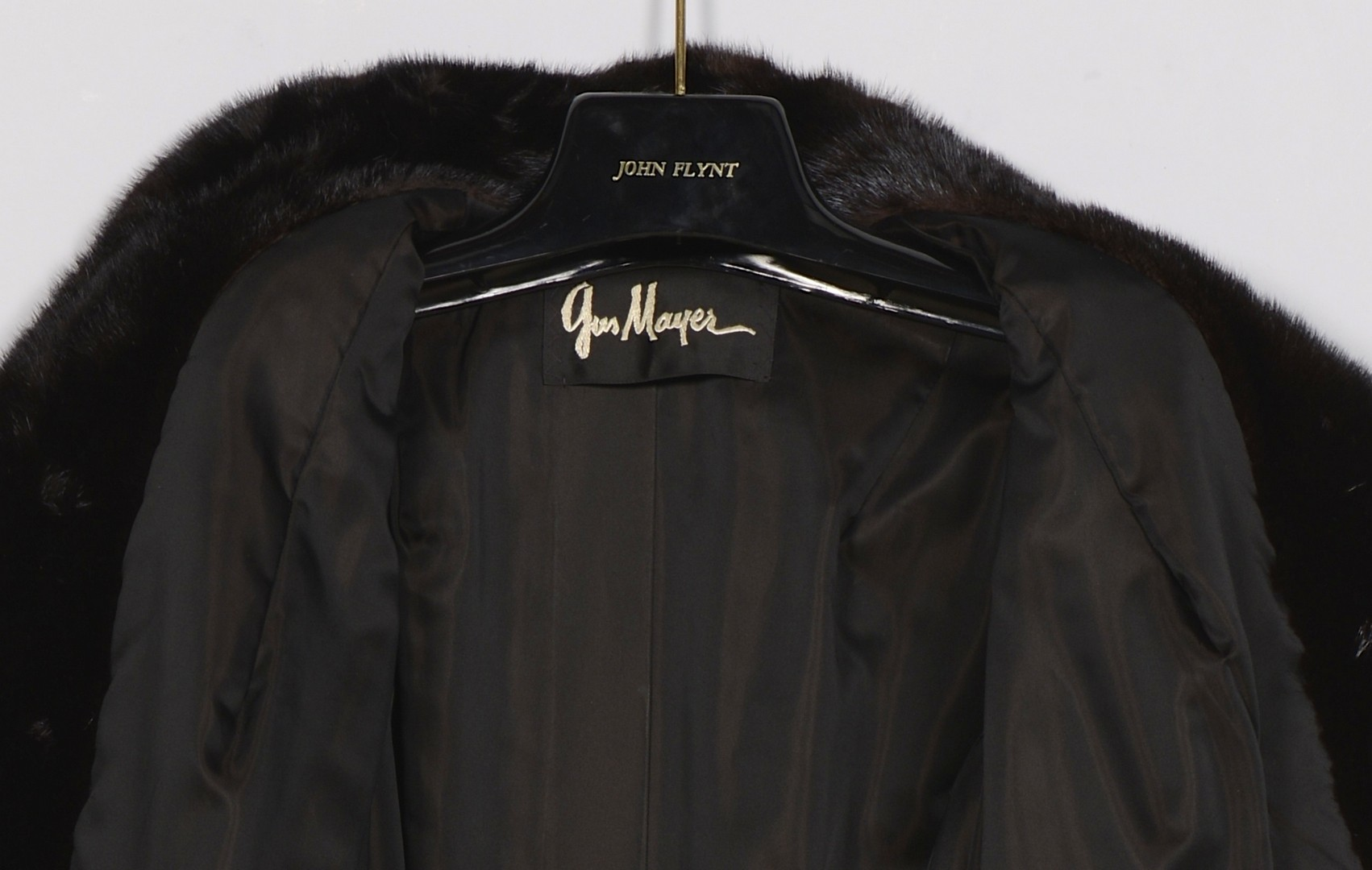 Lot 838: Ladies Full Length Mink Coat