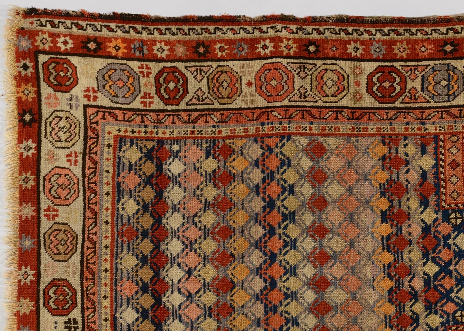 Lot 843: Caucasian Prayer Rug