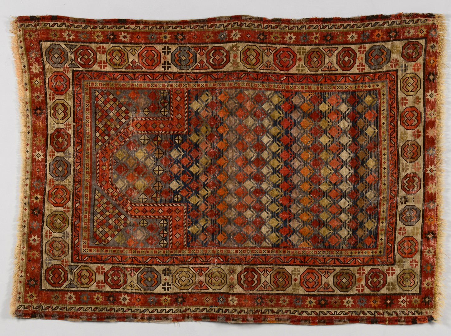 Lot 843: Caucasian Prayer Rug