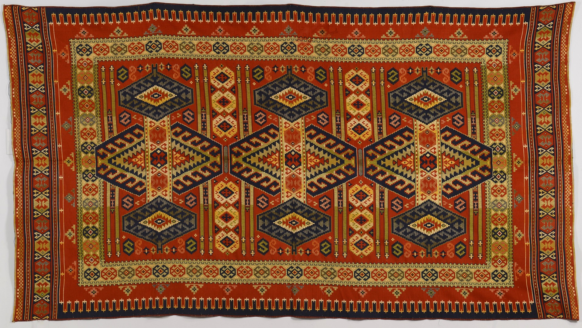 Lot 844: Persian Kelim Carpet