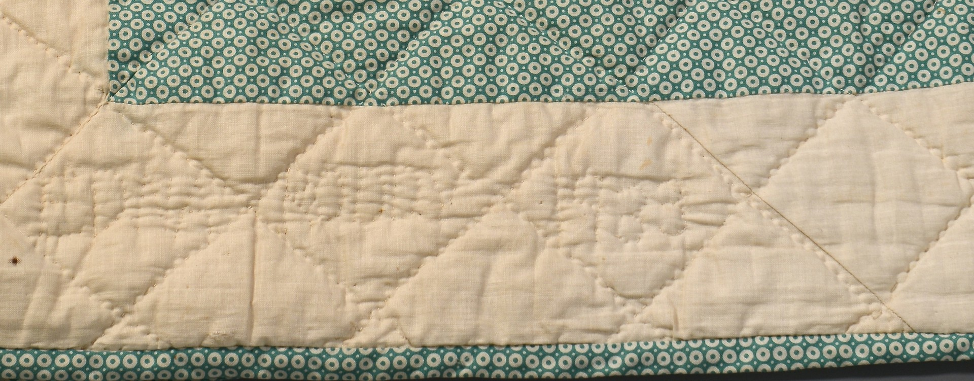 Lot 849: Group of 5 quilts, 1 signed