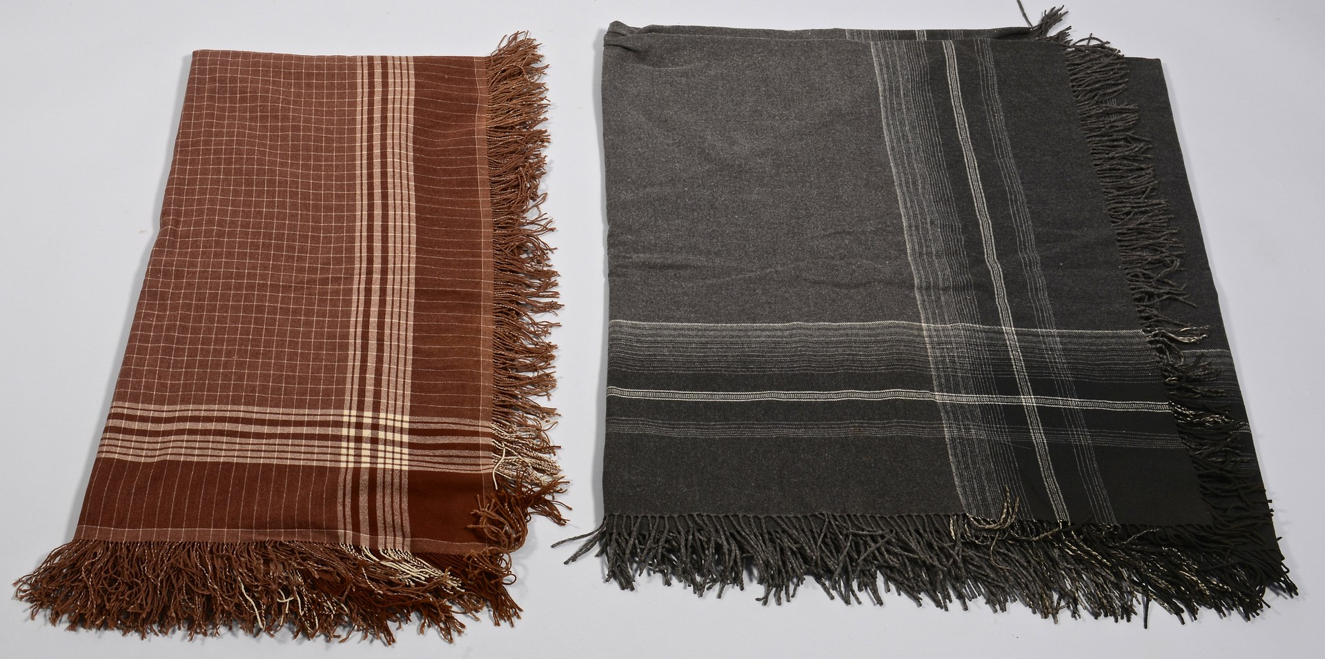 Lot 851: 2 Amish buggy blankets & 2 coverlets